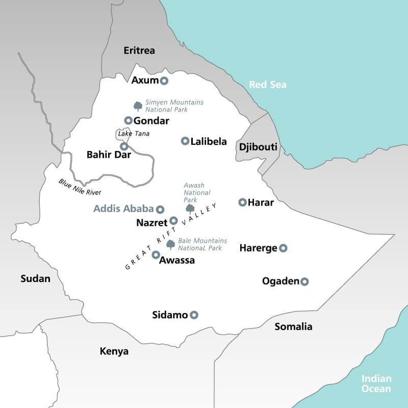 Ethiopia--map