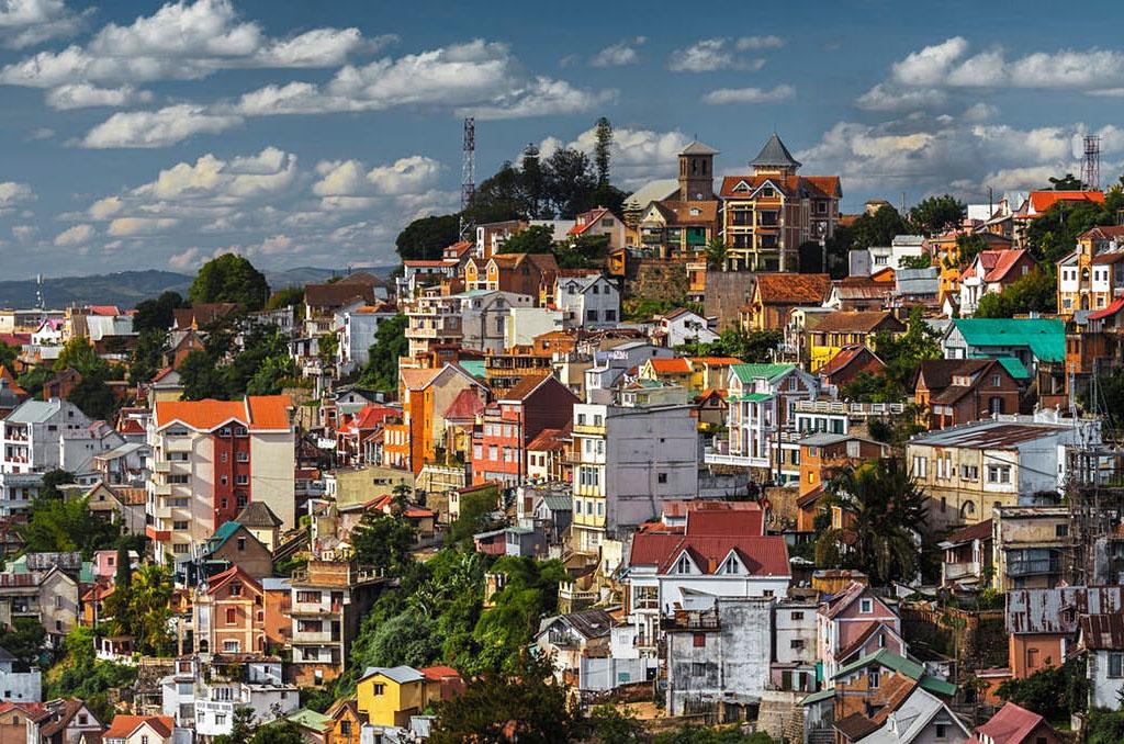 Arrival in Antananarivo