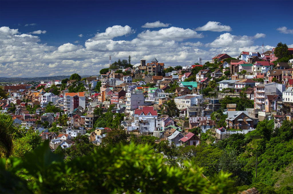 Nosy Be to Antananarivo for departure