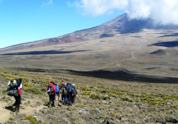Kilimanjaro: Northern circuit route