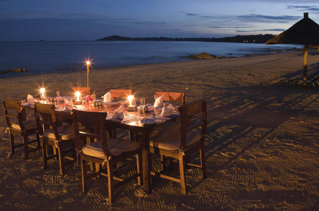 Chintheche Inn on the northern lakeshore of Malawi