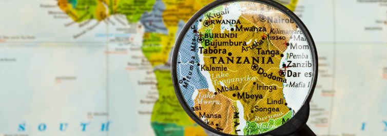 Tanzania Map - Safarihub