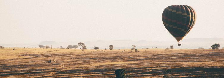 Hot Air Balloon over Serengeti - Safarihub