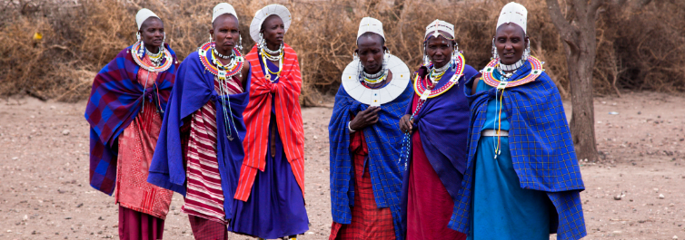 Maasai youth (Moran) - Safarihub
