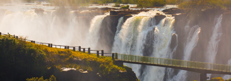 VICTORIA WATER FALLS - Places to Visit in Africa in 2021